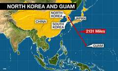 North Korea and Guam