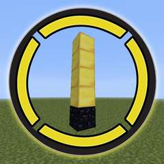 Tower of Pimps in Minecraft