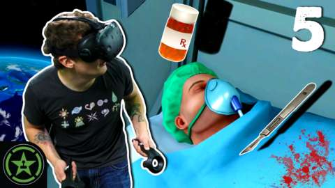 how to play surgeon simulator vr