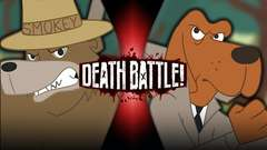 Smokey Bear VS McGruff the Crime Dog