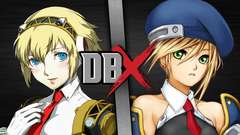 Aigis VS Noel Vermillion (Persona VS BlazBlue)