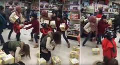 Black Friday, Woman Steals From Kid