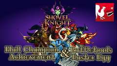 Shovel Knight - Hall Champion Guide & Battletoads Easter Egg