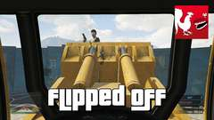 GTA V - Flipped Off