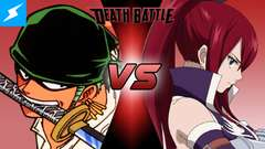 Zoro VS Erza (One Piece VS Fairy Tail)