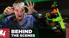 Space Invaders in Real Life - Behind the Scenes