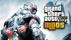 CRYSIS in GTA 5! Mod Gameplay!