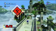 Sonic Generations - Red Ring Collector - Sky Sanctuary Zone