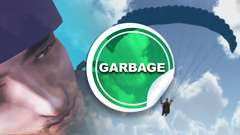 GARBAGE GAMES - 3D Paraglider and Crash Dive Gameplay