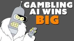 Gambling AI Wins BIG Money