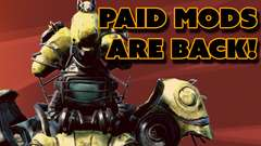 Fallout 4 Gets PAID MODS
