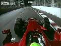 F1 Driver Hit by Debris