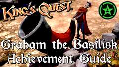 King's Quest - Graham the Basilisk, Horn Blower, and Froggy Throat Achievements