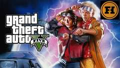 BACK TO THE FUTURE in GTA 5! Mod Gameplay!