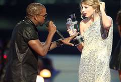 Kanye Interrupts Taylor Swift