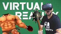 RIPPING GLADIATORS TO PIECES • Virtual Reality Gameplay