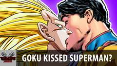 Goku Kissed Superman?