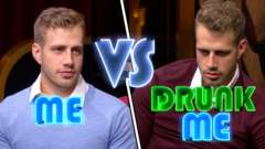 Me vs Drunk Me - Blaine Talks Cannibalism