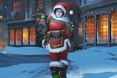 Blizzard Sorry for Mei Skin