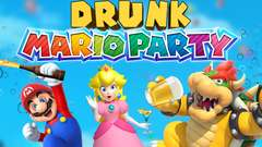 DRUNK MARIO PARTY - Mario Party 10 Gameplay