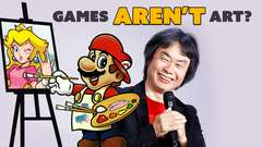Miyamoto: Video Games AREN'T ART?