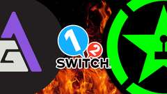 Game Attack vs Achievement Hunter: 1-2 Switch