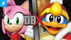 DBX – Amy Rose VS King Dedede (Kirby VS Sonic the Hedgehog)