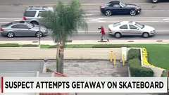 High Speed Skateboard Chase