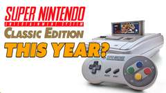 Nintendo SNES Classic Mini THIS YEAR?