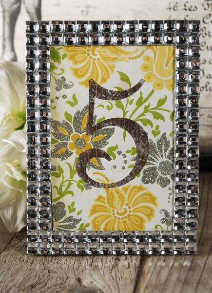 Rhinestone Crystal Photo Frame
