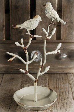 Jewelry Stand Tree with Birds