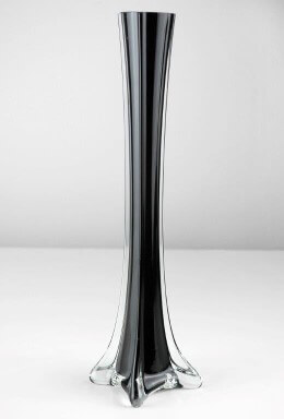 Eiffel Tower Vase 12in Black