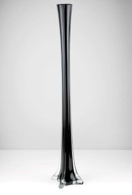 Eiffel Tower Vase 23.5in Black
