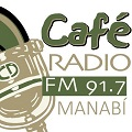 Radio Cafe 91.7 FM, Portoviejo, Radios de la provincia de Manabi, ECUADOR