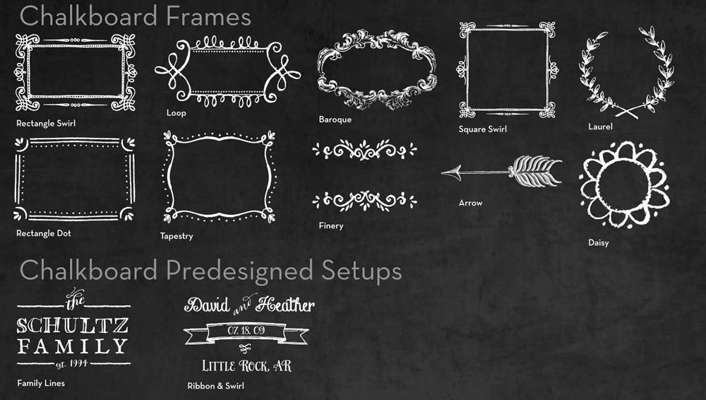 Chalkboard Personalized Glass Cutting Board - Large