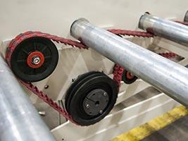 J-Series Belt Driven Loading Table