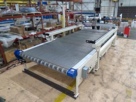 JXL-138 High Speed Water Only Waterjet Front View
