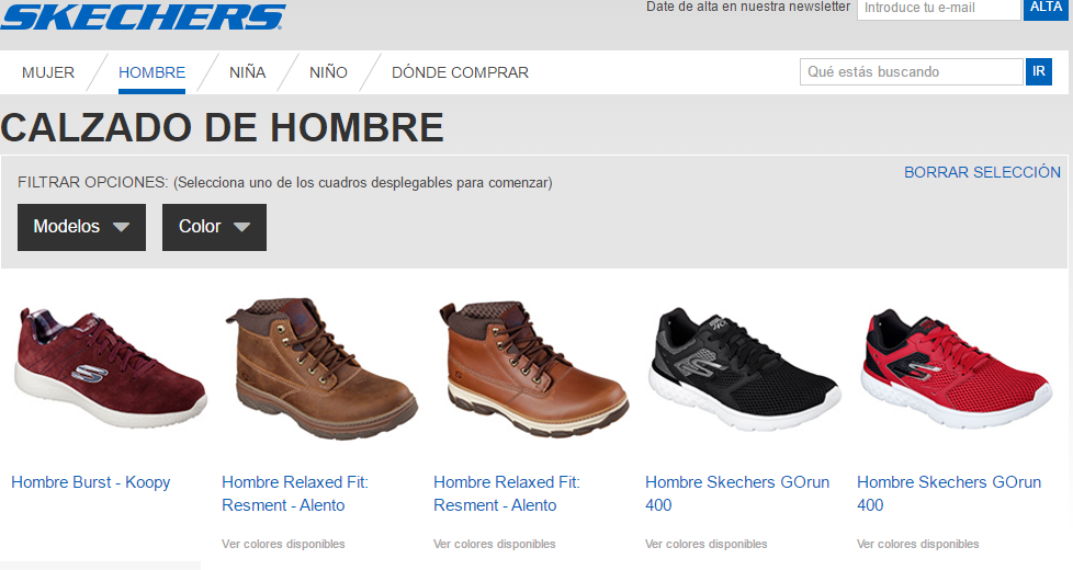 zapatillas skechers online