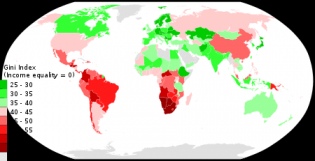 List of countries by income equality - Wikipedia
