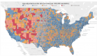 U.S. Suicide Rates by County [OC] : dataisbeautiful