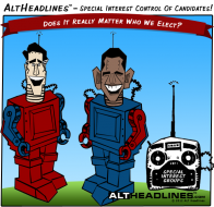 Special-interest-control-romney-obama-robots