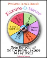 Play At Home With President Obama's Excuse-O-Meter Game!