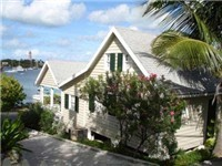 Bahamian style house with one of the best views of the Harbour and steps away from the beach. Walking distance from restaurants, shops, nightlife and the Public dock.