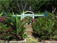 15 acres of gardens at Hope Town Hideaways. Beach, pool, gardens, historic village, friendly people marina. Hope Town Hideaways villas has it all.