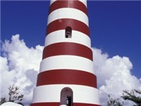 Elbow Cay Lighthouse - Tourist Attraction in Hope Town