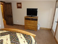 flat screen TV in 3rd Bedroom