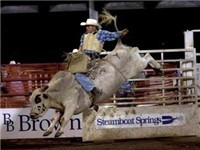Steamboat Springs Pro Rodeo Series - Bull Riding