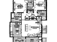 Floor Plan  - 1255 sq feet