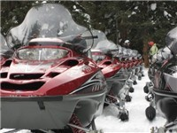 Winter Activities - Steamboat Snowmobile Tours - Winter Attraction in Steamboat Springs