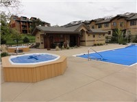 Hot Tub (Year Round) and Pool Area (Summer Only) Changing rooms as well!